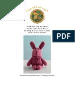 Bouncy Bunny Sock Critter