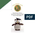 Amigurumi Graduation Owl