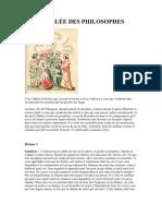 L'ASSEMBLÉE DES PHILOSOPHES