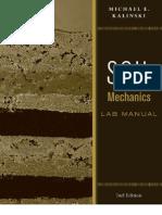 Soil Mechanics - Lab Manual