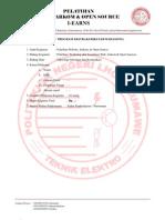 Proposal Pelatihan Web & Database