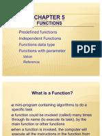 Chap 5 - Function