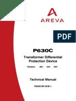 Technical Manual Micom 630