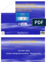 Compliance to ISO 9001
