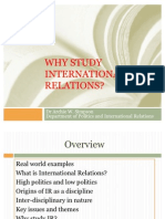 Why Study International Relations