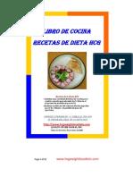 Libro Recetas Cocina Dieta Hcg Espanol