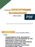 Perubahan Sosial Dan Teori Modernisasi