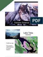Volcano Science
