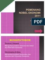 Pemenang Nobel Ekonomi ( ekonomi makro )