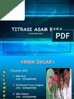 Praktikum Titrasi Asam-Basa