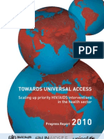 Report 2010 Universal Access