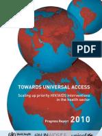 Report 2010 Universal Access