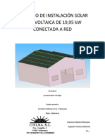 Proyecto Fotovoltaica Nave