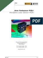 070529 Color Sensor PCSI Datasheet