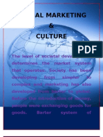 Global Marketing and Culture