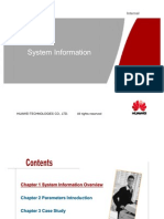 Huawei System Information ISSUE_1.6