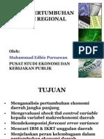 Model pertumbuhan ekonomi regional