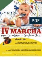 IV Marcha Por La Vida y La Familia