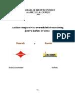 Analiza Comparativa a Comunicarii de Marketing Pentru Marcile de Cafea Doncafe Si Jacobs
