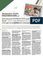 Entrevista a Alejandro Gella, sobre Alzheimer