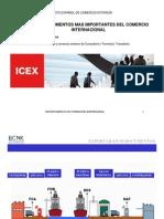 Documentos para a exportação