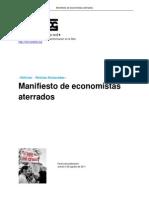 Manifiesto de Economist As Aterrados