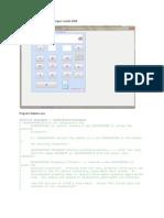 Contoh Tampilan Kalkulator Dengan Matlab 2008