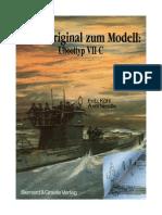 Vom Original Zum Modell Uboottyp VII