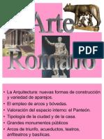 Arte Romano con diapositivas paue