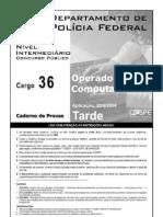 Cargo 36 - Operador de or