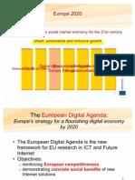 EC Presentation Digital Agenda Europe