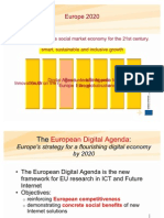 EC Presentation Digital Agenda Europe