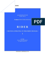 Sociologija Rider