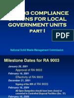 Ra 9003 Compliance Options for Lgu Part 1