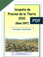Encuesta Precios Tierra 2010 Tcm7-177922