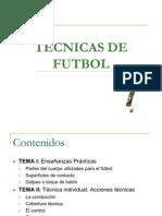 Tecnicas de futbol