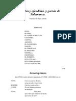 Rojas Zorrilla Francisco de - Obligados Y Ofendidos Y Gorron de Salamanca