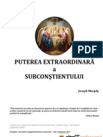Puterea Extra or Dinar A a Subconstientului - Joseph Murphy