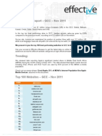 Site Ranking Report – GCC – Nov 2011