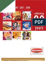 BRITANNIA AnnualReport2007-08