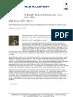 Audiophile Audition, Soler Recensie