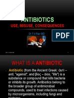 Antibiotic Use and Misuse
