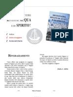 SEI DAVVERO RINATO DI ACQUA E DI SPIRITO?