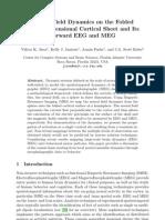 Viktor K. Jirsa et al- Neural Field Dynamics on the Folded Three-Dimensional Cortical Sheet and Its Forward EEG and MEG