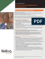 Impact des mesures budgétaires 2012 sur les assurances-vie