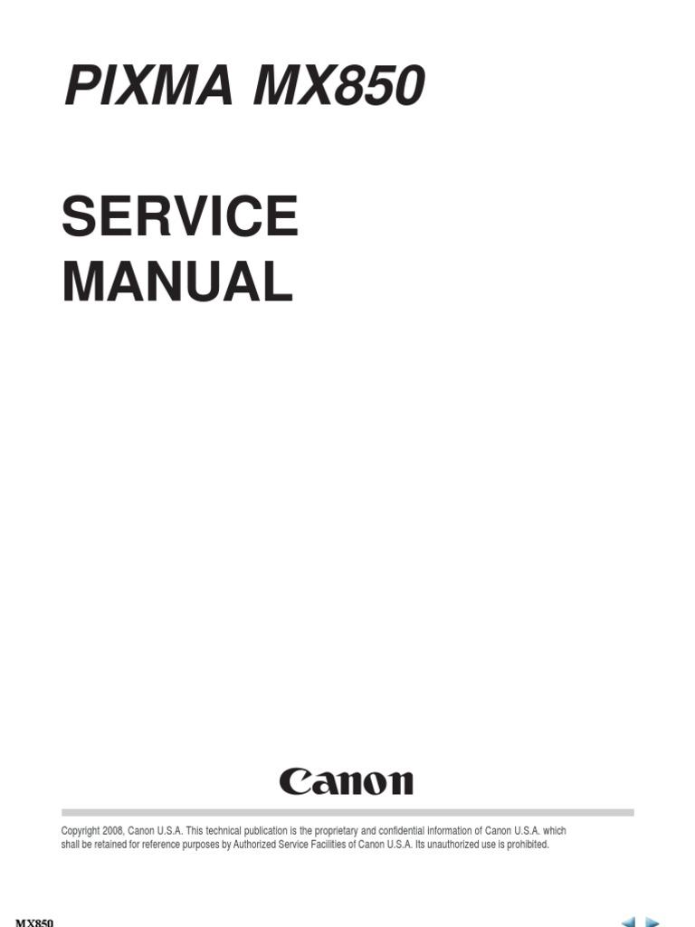 Canon Irc2880 Service Manual