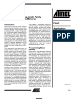 Programming Atmel's Family of Flash Memories