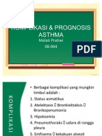 Komplikasi & Prognosis Asthma