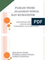 Implikasi Teori Pembelajaran Sosial Albert Bandura