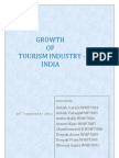 Report of Growth of Tourism Industry India 10th Sep'11